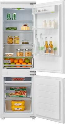 Встраиваемый двухкамерный холодильник Midea MRI 7217 встраиваемый двухкамерный холодильник midea mri 9217 fn