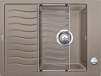 Кухонная мойка Blanco ELON 45 S серый беж inFino 524821