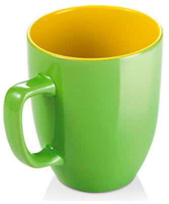 Кружка Tescoma CREMA SHINE зеленый 387192.25 кружка tescoma crema латте маккиато 300мл стекло