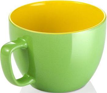 Кружка большая Tescoma CREMA SHINE зеленый 387194.25 цена и фото