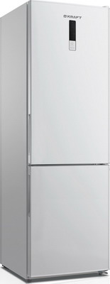 лучшая цена Двухкамерный холодильник Kraft KF-NF 310 WD