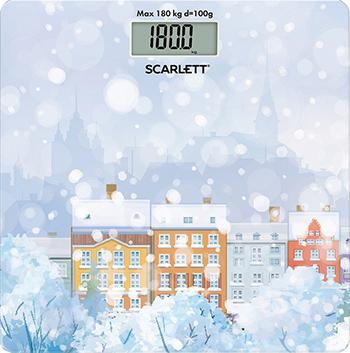 Весы напольные Scarlett SC-BS 33 E 032 весы напольные scarlett sc bs 33 e 092