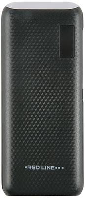 Внешний аккумулятор Red Line UK-108 (15000 mAh) черный red line b8000 pink gold внешний аккумулятор 8 000 mah