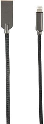Фото - Кабель Red Line LX13 Zync alloy USB-Lightning черный pair of stylish round shape design alloy cufflinks for men