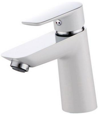 Смеситель для ванной комнаты Iddis Cloud CLOSB00i01 Белый/хром