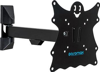 Фото - Кронштейн для LED/LCD телевизоров Kromax CASPER-203 BLACK кронштейн для телевизоров kromax flat 5 black
