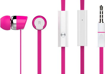 Вставные наушники Harper KIDS HV-104 pink