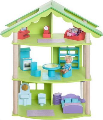 Кукольный дом Paremo Фиолент с 14 предметами мебели PD 216-02 цена и фото