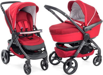 Коляска Chicco STYLEGO RED PASSION 2 в 1 07079430640000