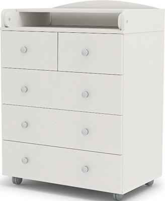 Комод с пеленальным столом Sweet Baby Baby Marcello Bianco (Белый) 382 026
