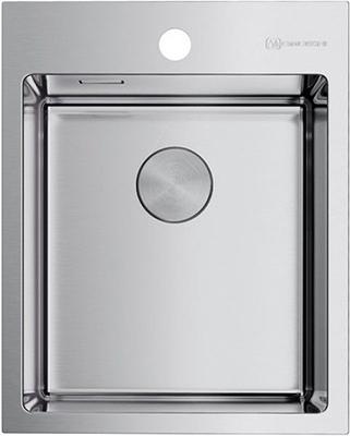 Кухонная мойка Omoikiri AKISAME 41-IN нерж. сталь/нержавеющая сталь (4973056)