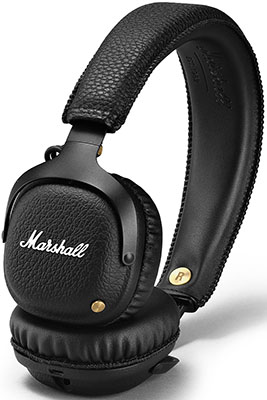 Накладные наушники Marshall Mid Bluetooth black элегантность и музыка другая кепка беспроводной связи bluetooth bluetooth гарнитуру для спикера микрофон наушник смарт зимних откр