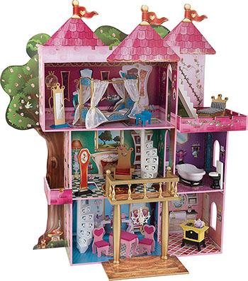 Замок-дом для кукол Winx и Ever After High Книга Сказок KidKraft 65878_KE аксессуары для кукол kidkraft кукольный стульчик для кормления