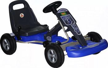 Машина гоночная педальная Wader 49551_PLS цена
