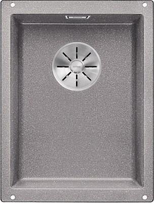 Кухонная мойка BLANCO SUBLINE 320-U SILGRANIT алюметаллик с отв.арм. InFino 523408 кухонная мойка blanco subline 700 u level silgranit алюметаллик с отв арм infino 523540