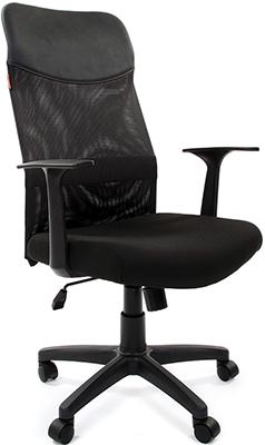 Офисное кресло Chairman 610 LT 15-21 черный офисное кресло chairman 610 черный оранжевый
