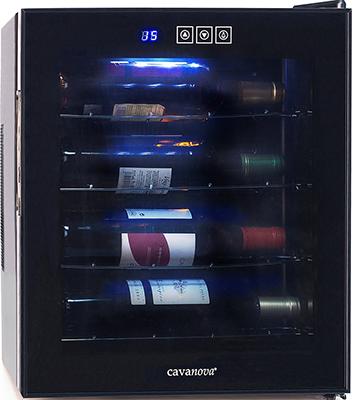 все цены на Винный шкаф Cavanova CV 004 P черный онлайн