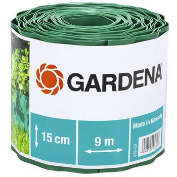 цена на Садовый бордюр Gardena зеленый 15 см длина 9 м 00538-20