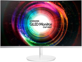 ЖК монитор Samsung C 32 H 711 QEI (LC 32 H 711 QEIXCI) gl.WHITE цена и фото