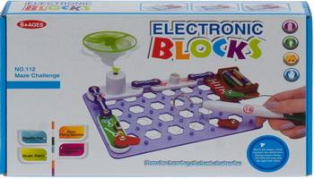Набор Electronic Blocks Лабиринт YJ 188170490 1CSC 20003430 электронный конструктор electronic blocks лампочка yj 188171445 1csc 20003424