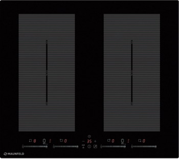 Встраиваемая электрическая варочная панель MAUNFELD EVI.594.FL2(S)-BK цена 2017