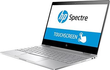 Ноутбук HP Spectre x 360 13-ae 010 ur <2VZ 70 EA> i7-8550 U Silver -Trans цена и фото