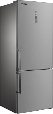 все цены на Двухкамерный холодильник Toshiba GR-RB 440 WE-DMJ(02) онлайн