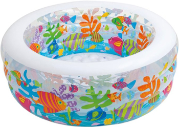 Фото - Детский надувной бассейн Intex 152х56см ''Аквариум'' 318л от 6 лет 58480 батут intex 203х69см 3 6 лет 48267