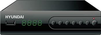 Цифровой телевизионный ресивер Hyundai DVB-T2 H-DVB 560 ресивер hyundai h dvb140 черный dvb t2