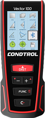 Лазерный дальномер Condtrol Vector 100 дальномер condtrol vector 600