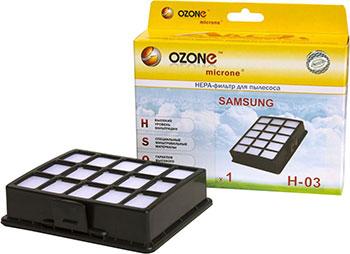 HEPA-фильтр Ozone H-03 целлюлозный для пылесоса ozone h 15 нера фильтр для пылесоса lg