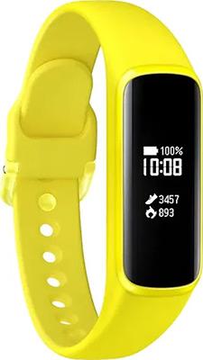 цена Браслет Samsung Galaxy Fit E M-R 375 N желтый онлайн в 2017 году