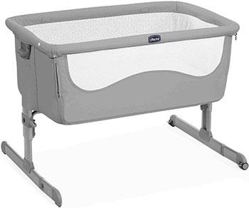 Детская кроватка Chicco NEXT2ME STANDARD PEARL 00079339840000 недорого