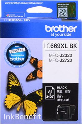 Фото - Картридж Brother LC 669 XLBK черный lee cooper часы lee cooper lc 38g e коллекция leeds
