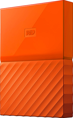Внешний жесткий диск (HDD) Western Digital 1TB 2.5'' ORANGE WDBBEX0010BOR-EEUE цена