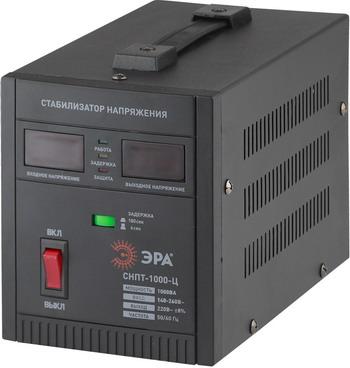 Стабилизатор напряжения ЭРА СНПТ-1000-Ц эра стабилизатор sta 1000