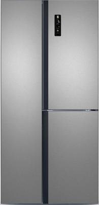 Холодильник Side by Side Ginzzu NFK-445 стальной