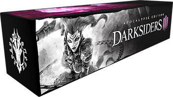 цена на Игра для приставки Sony PS4 Darksiders III Apocalypse Edition