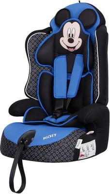 Автокресло Siger серия Disney Драйв гр. I/II/III Микки Маус контур синий KRES2667