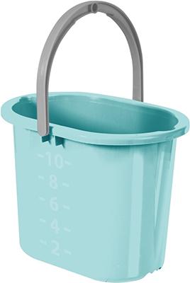 Ведро д/мытья полов Hausmann HM-1084 (10 л) мятный цена
