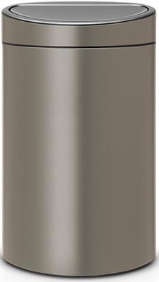Мусорный бак Brabantia TOUCH BIN new (40л) 114908