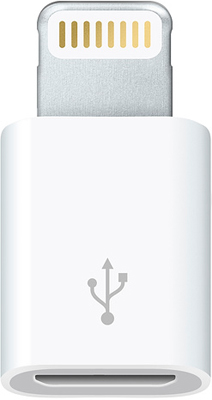 USB кабель Apple стандарта LIGHTNING TO MICRO USB ADAPTER-ZML MD820ZM/A