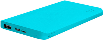 Внешний аккумулятор Xiaomi Power Bank ZMI (QB810 Tiffany) 10000mAh Type-C Quick Charge 2.0 ГОЛУБОЙ