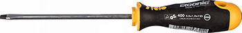 Отвертка Felo Ergonic плоская шлицевая 5 5X1 0X125 40055410 отвертка felo ergonic плоская шлицевая 5 5x1 0x150 40055510