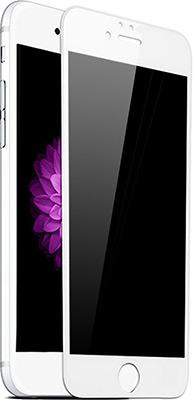 Защитное стекло Eva 3D для Apple iPhone 6/6s - Белое (SZE3D-6W) защитное стекло caseguru для apple iphone 6 6s silver logo