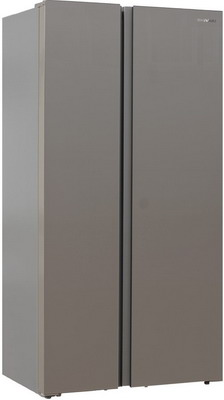 Холодильник Side by Side Shivaki SBS-572 DNFGBE холодильник shivaki sbs 570dnfx