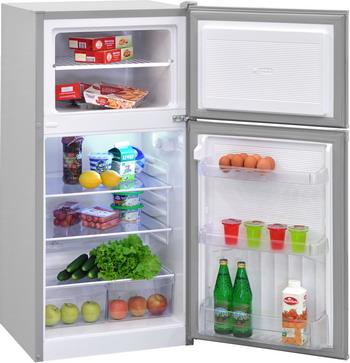 Двухкамерный холодильник NordFrost, NRT 143 332 серебристый, Украина  - купить со скидкой