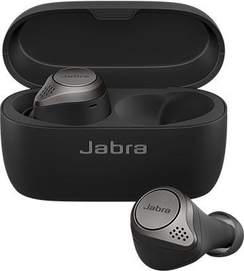 Вставные наушники Jabra Elite 75t чёрный