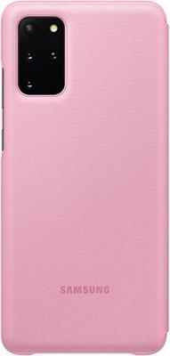 Чехол (клип-кейс) Samsung S20plus (G985) LED-View pink EF-NG985PPEGRU аксессуар чехол samsung galaxy note 8 led view cover gold ef nn950pfegru