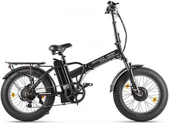 Велогибрид Eltreco VOLTECO BAD DUAL NEW черный-2301 022561-2301 электровелосипед volteco shrinker 2